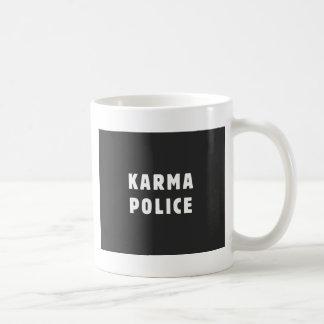 カルマの警察 コーヒーマグカップ