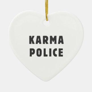 カルマの警察 セラミックオーナメント