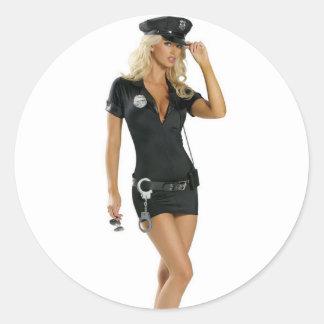カルマの警察 ラウンドシール