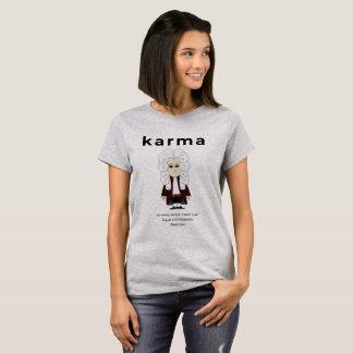 カルマ及びニュートンの第3法律2018年 Tシャツ