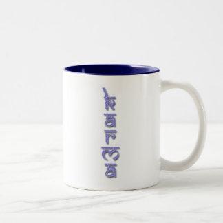 カルマ-紫色 ツートーンマグカップ