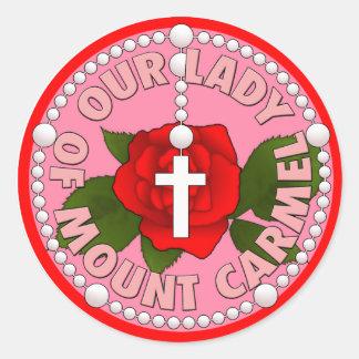 カルメル山の私達の女性 ラウンドシール