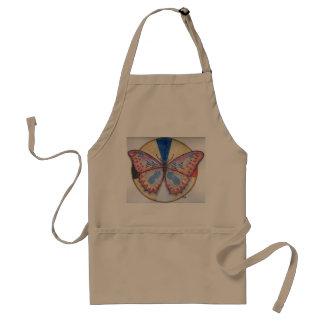 カルラのエプロンのための蝶 スタンダードエプロン