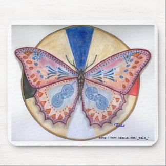 カルラのmousepadのための蝶 マウスパッド