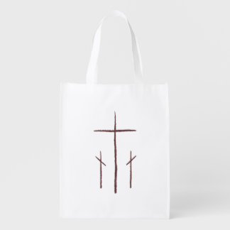 カルヴァリーの3つの十字 エコバッグ