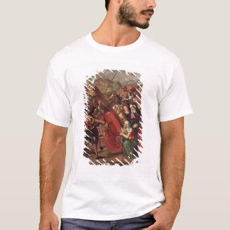 カルヴァリー、c.1505への行列 tシャツ