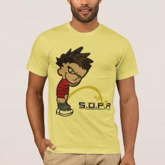 カルヴァンの小便SOPA Tシャツ