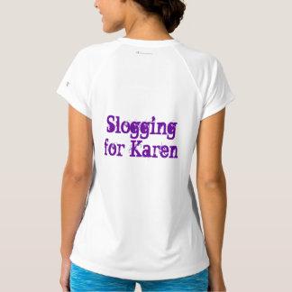 カレンのために重い足どりで進むこと Tシャツ