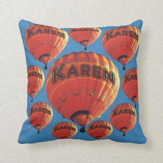 カレンの熱気の気球 クッション