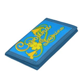 カロライナのジャスミンの財布(青い)