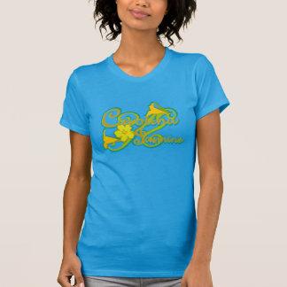 カロライナのジャスミンの(青い) Tシャツ