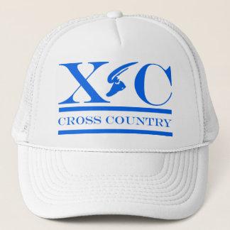 カロライナの青いデザインの帽子を走るクロス・カントリー キャップ
