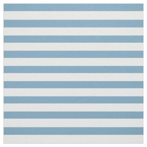 カロライナの青および白い小さい縞で飾ります ファブリック