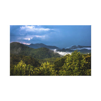 カロライナ山 キャンバスプリント