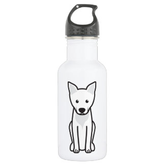 カロライナ犬の漫画 ウォーターボトル