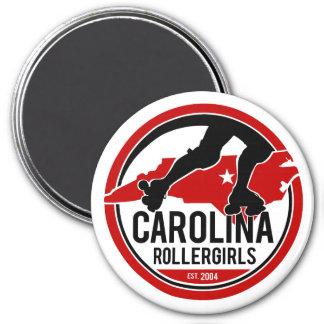 カロライナRollergirlsの円形の磁石 マグネット