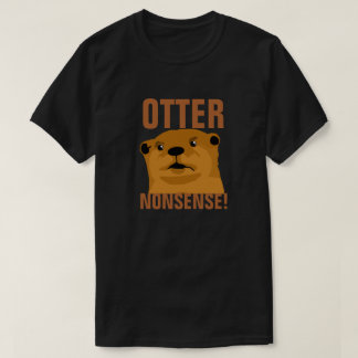 カワウソのナンセンス Tシャツ