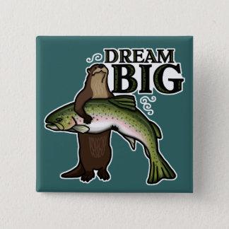 カワウソの夢の大きい 缶バッジ
