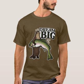 カワウソの夢の大きい Tシャツ