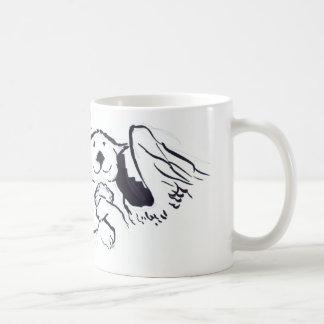 カワウソの天使 コーヒーマグカップ