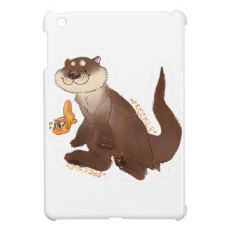 カワウソのnの金魚 iPad miniケース