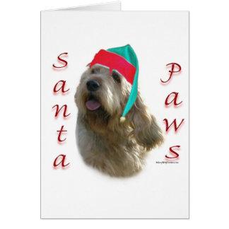 カワウソ猟犬のサンタの足 カード