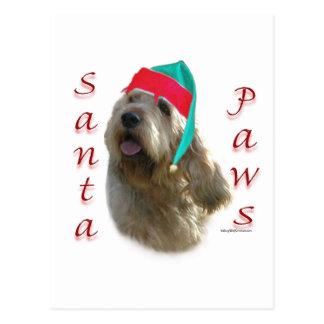 カワウソ猟犬のサンタの足 ポストカード