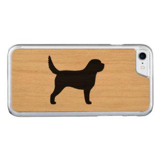 カワウソ猟犬のシルエット CARVED iPhone 8/7 ケース