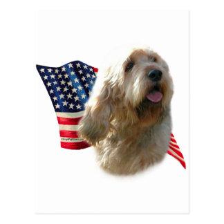 カワウソ猟犬の旗 ポストカード