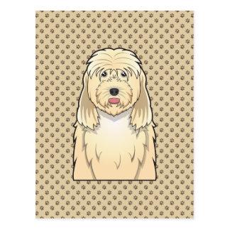 カワウソ猟犬の漫画 ポストカード