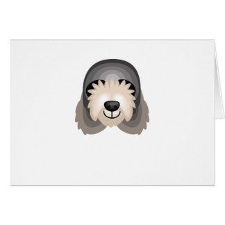 カワウソ猟犬犬の品種-私の犬のオアシス カード