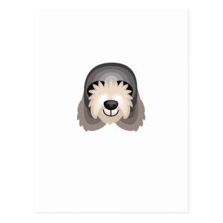 カワウソ猟犬犬の品種-私の犬のオアシス ポストカード