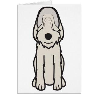 カワウソ猟犬犬の漫画 カード
