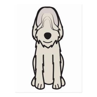 カワウソ猟犬犬の漫画 ポストカード
