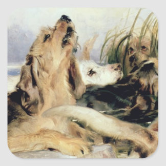カワウソ猟犬 スクエアシール