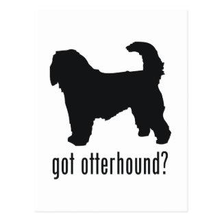 カワウソ猟犬 ポストカード