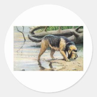 カワウソ猟犬 ラウンドシール