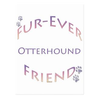 カワウソ猟犬Furever ポストカード