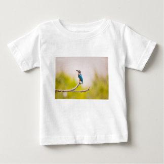 カワセミの自然 ベビーTシャツ
