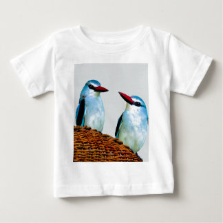 カワセミの鳥南アフリカ共和国 ベビーTシャツ