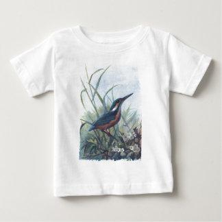 カワセミ ベビーTシャツ
