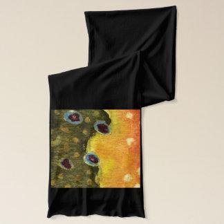 カワマスのはえの魚釣り スカーフ