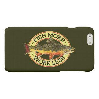 カワマスのはえの魚釣り マットiPhone 6ケース
