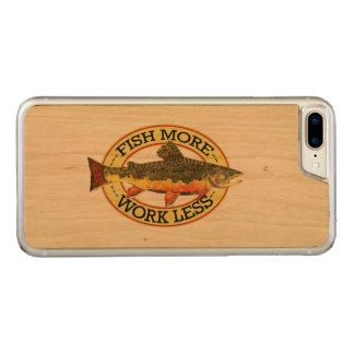 カワマスのはえの魚釣り CARVED iPhone 8 PLUS/7 PLUS ケース
