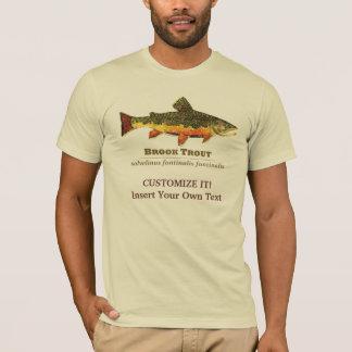 カワマスのはえの魚釣り Tシャツ