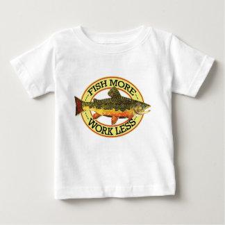 カワマスの角度 ベビーTシャツ