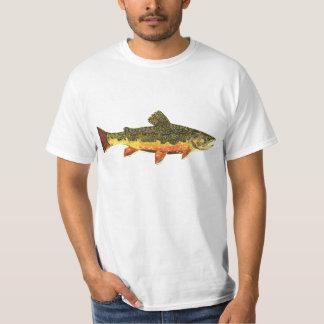 カワマスの魚の絵画 Tシャツ