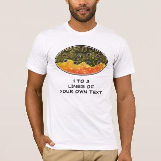 カワマスの魚釣り Tシャツ