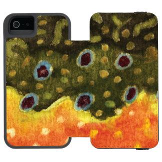 カワマスの魚 INCIPIO WATSON™ iPhone 5 財布 ケース
