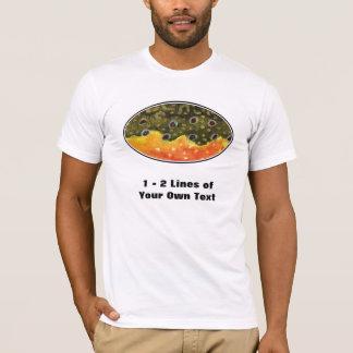 カワマスの魚 Tシャツ